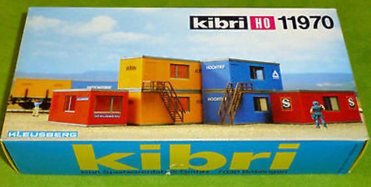 Kibri 11970 - 6 Bürocontainer