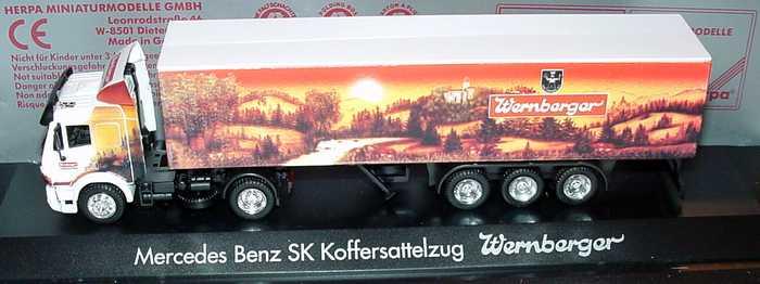 Herpa 120 005 - DB SK Koffersattelzug 'Wernberger'