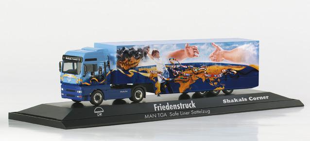 Herpa 120432 - MAN Friedenstruck 'Shakals Corner'