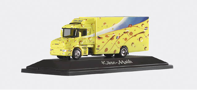 Herpa 145992 - Scania Hauber '96 Koffer-LKW 'Kase Maik'