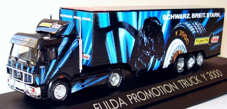 Herpa 166483 - SOS FULDA, 1993, Fulda Promotion Truck Y 3000