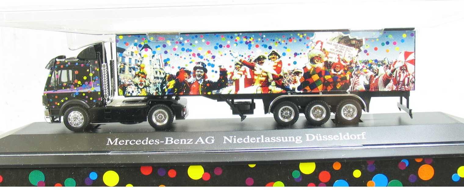 Herpa DB Teile Nr. 1 Q 8094121 - DB SK, SOS DB 1993, Niederlassung Duesseldorf, ' Karneval 1993 '