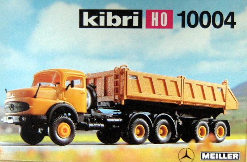 Kibri 10004 - Mercedes LAS 2624 Sattelkipper 'Meiller', Niederbord