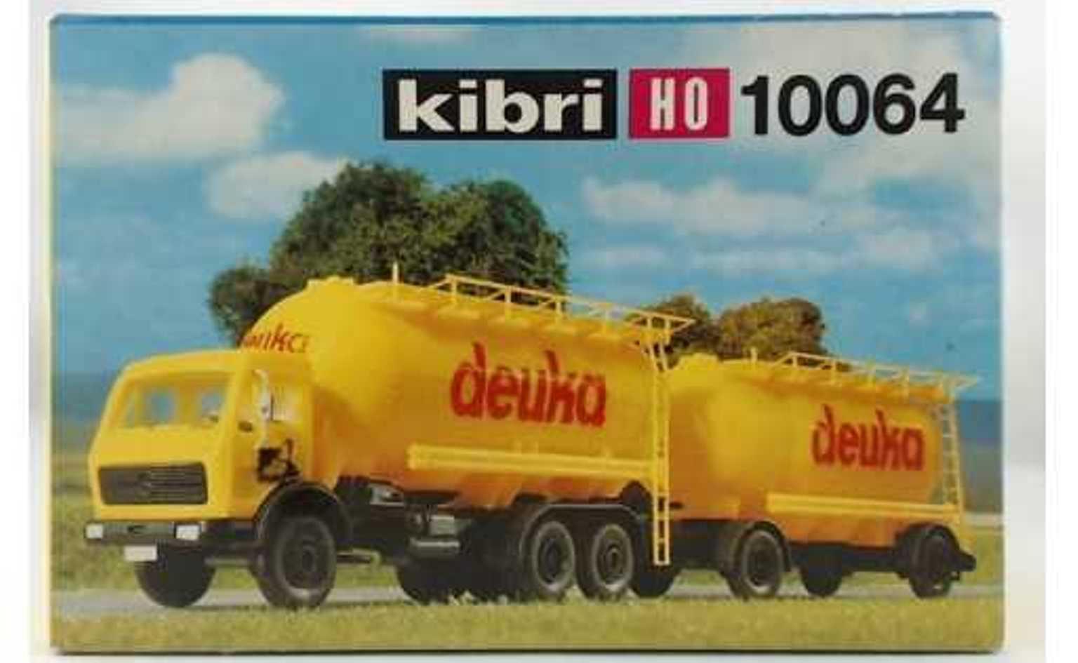 Kibri 10064 - Mercedes 2232 Silo-Haengerzug, 'Deuka'