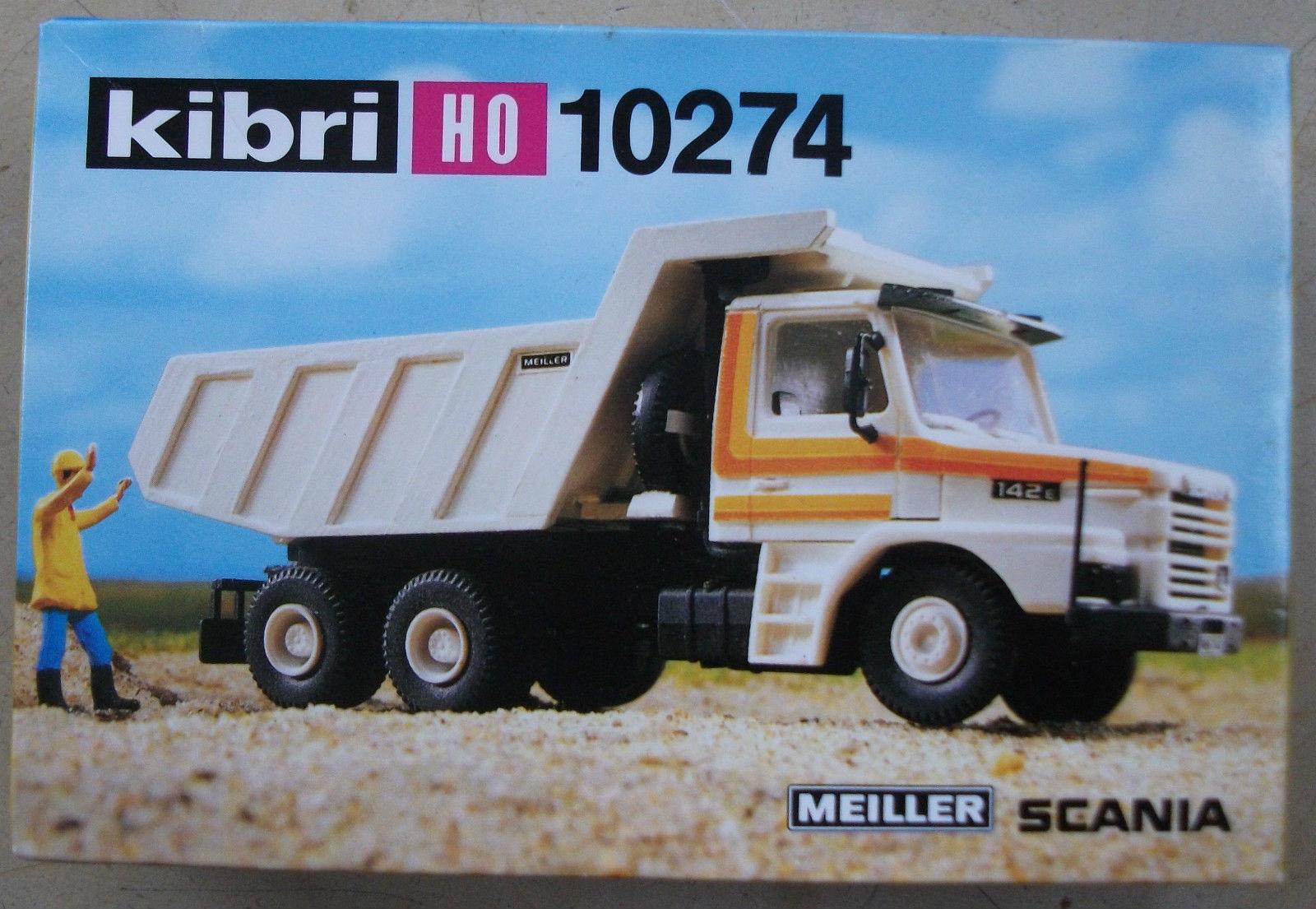 Kibri 10274 - SCANIA 142 E, MEILLER Muldenkipper