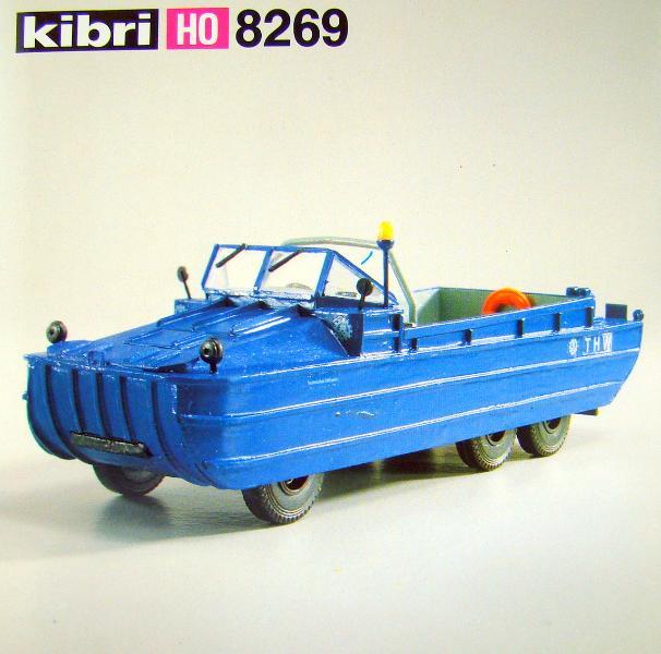 Kibri 8269 - THW Amphibienfahrzeug