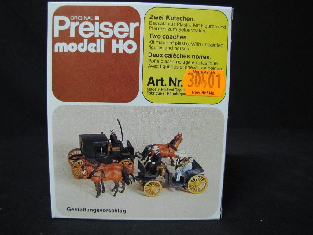 Preiser 401 - 2 Kutschen