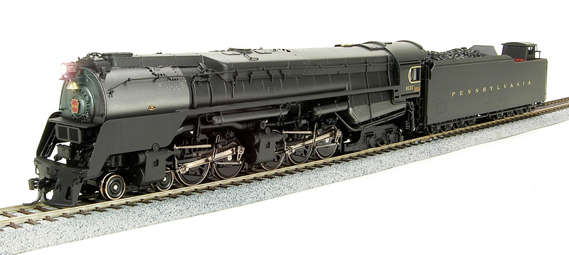 BLI 2065 - PRR Q2, 4-4-6-4 No.6131, As-built Prototype Version