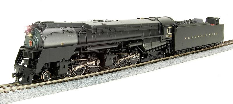 BLI 2065 - PRR Q2, 4-4-6-4 No.6131, As-built Prototype Version