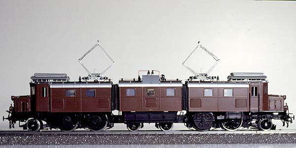 Lemaco 013-1 - Ae 4-8, SBB, braun, Versuchslok