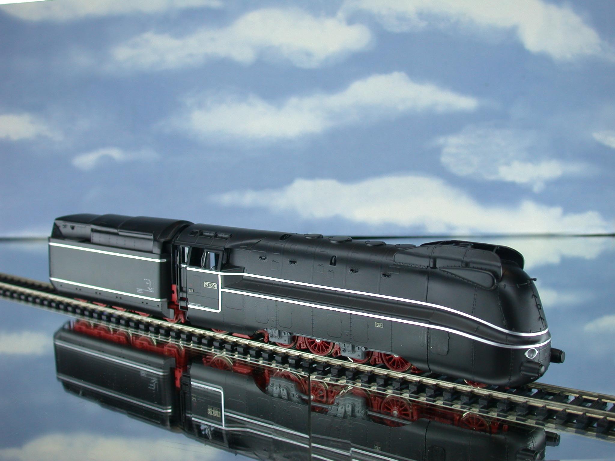 Lemaco 088 - BR 19.1001, schwarz, Einzelachsantrieb.01
