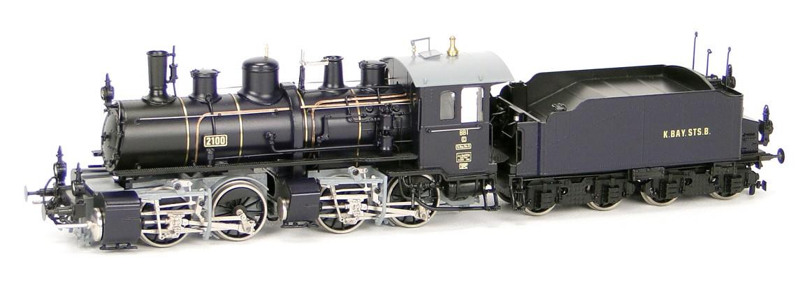Micro-Metakit 94 100H - BB I, Nr. 2100, dunkelblau-grau-schwarz, Tender 4-achsig.02