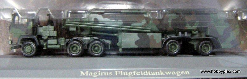 Roco 834 - Magirus Flugfeldtankwagen, Tarnanstrich