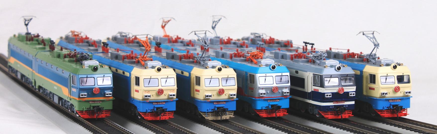 Bachmann CE00402 - SS4, 0001, Beijing Railway (left model).1