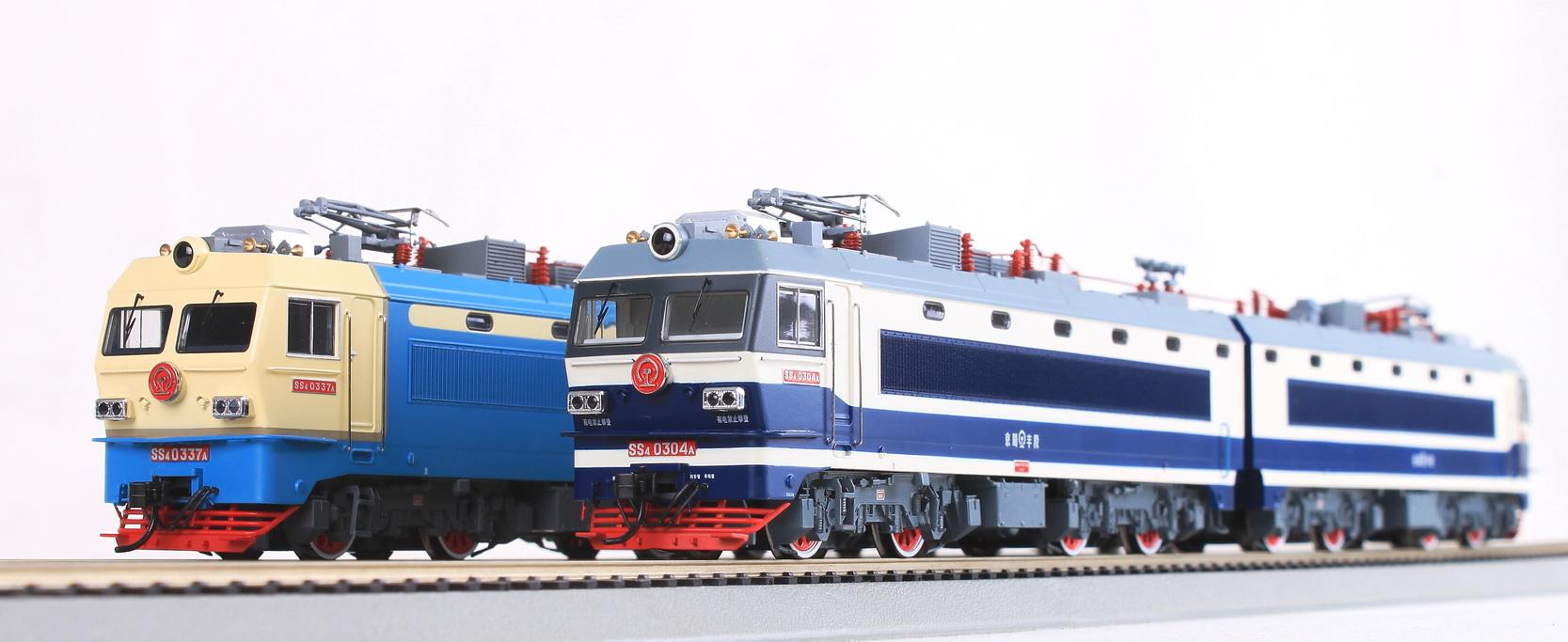 Bachmann CE00405 - SS4, 0304, Beijing Railway.1