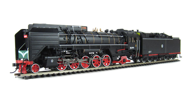 Bachmann CS00107 - QJ2 No.0001 Gas-Power Locomotive, black.01