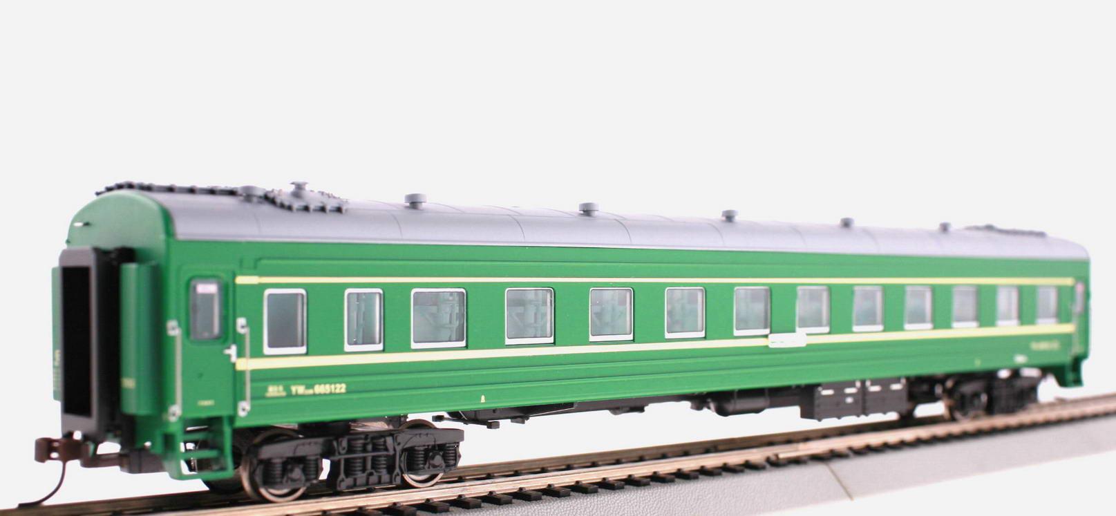 Bachmann-Spectrum CP00502-4 - Passenger Sleeper, green, Cina Nat Railways.1