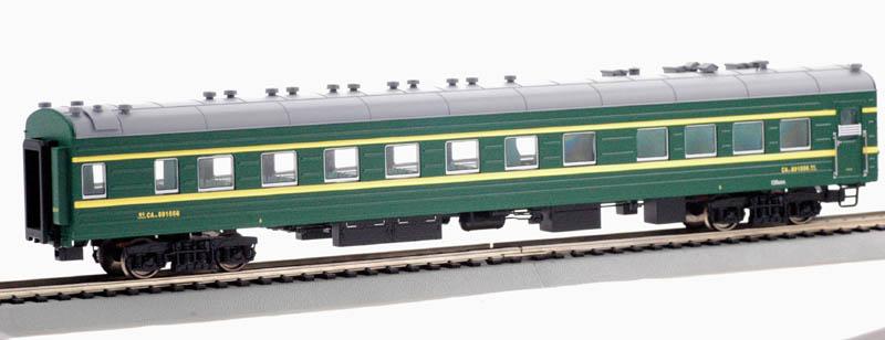 Bachmann-Spectrum CP00616 - Passenger Diner, green, Cina Nat Railways.1