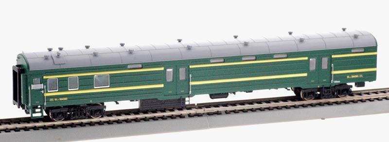 Bachmann-Spectrum CP00710 - Passenger Baggage, green, Cina Nat Railways.1