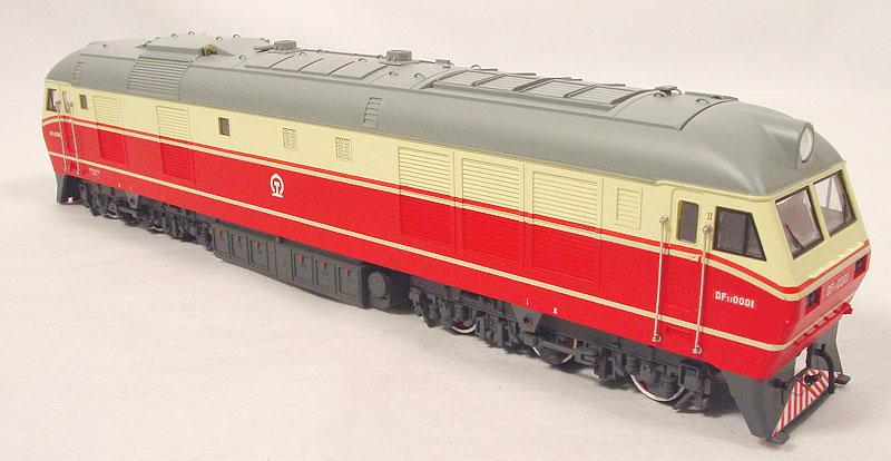 Bachmann-Spectrum CT00102-62048 - - DF11, Chin. V-Lok, rot-beige, Nr.0001.1