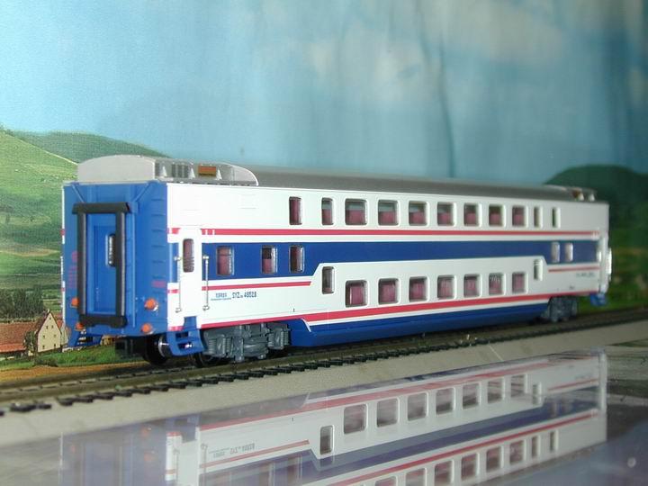 Bachmann-Spectrum CT00202 - SYZ25B, Chin. Double Deck Passenger Coach, 140 kmh