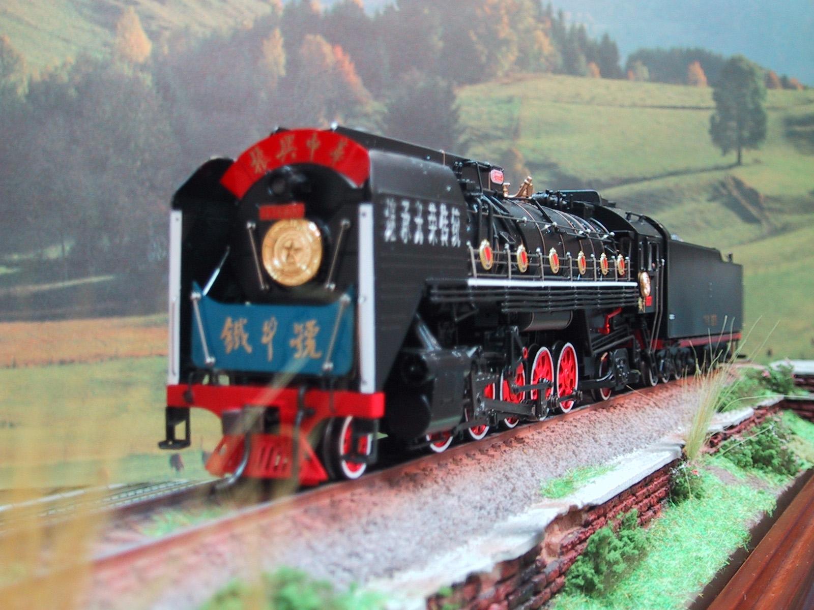 Bachmann-Spectrum CT00302 - QJ12WT, Chin. D-Lok QJ, Santa Fe Class, 2-10-2, 'Iron Bull', Nr.6800.1