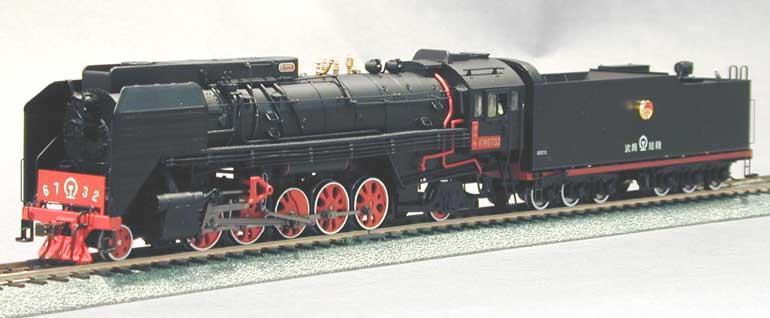 Bachmann-Spectrum CT00303 - QJ12WT, Chin. D-Lok QJ, Santa Fe Class, 2-10-2, 'Youth', Nr.6732.2
