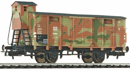 Liliput 221483 - G Stettin 41 238, mit Bremserhaus und mit Tarnanstrich.1
