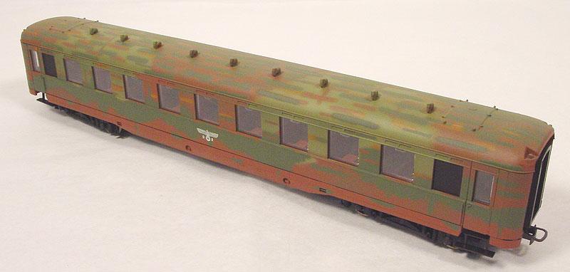 Liliput 350 023 - Schuerzenwagen, Tarnfarbe, DRG.3