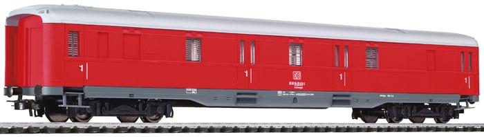 Liliput 383811 - Kran-Begleitwagen 'Goliath', rot, DB, Ep. V.2