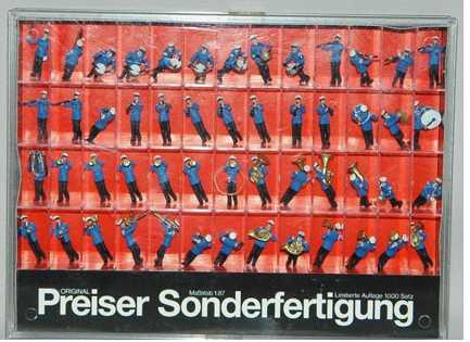 Preiser 00271 - Feuerwehrkapelle. 52 Figuren.2