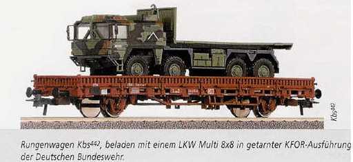 Roco 47789 - KFOR Kbs mit Multi 8x8