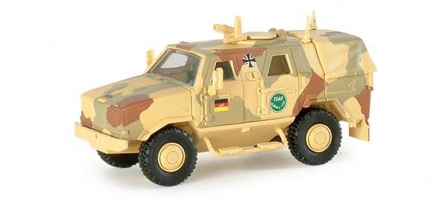 Roco 5003 - Herpa 741040 - ATF Dingo 1 ISAF, wuestentarnfarbe
