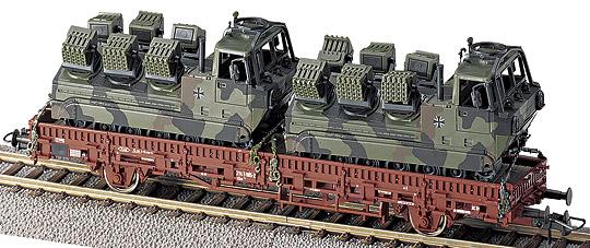 Roco 884 - Kbs, mit 2 Scorpions, getarnt1.